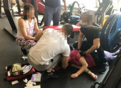 Вологжанин умер после тренировки в зале