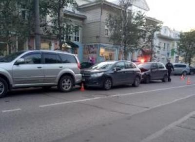 В тройном ДТП на Советском проспекте пострадала 3-летняя девочка