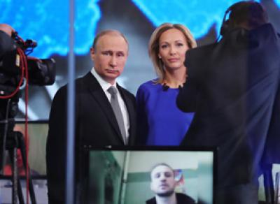 «Прямая линия»: Президент ответил на вопрос граждан о плохих дорогах в России
