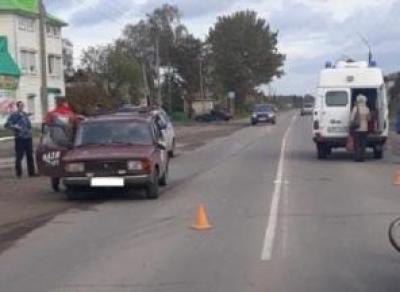 В Харовске ВАЗ сбил велосипедиста