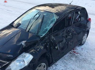Три человека пострадали в ДТП в Устюженском районе