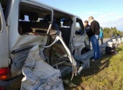 В Кирилловском районе в результате автоаварии погибла женщина