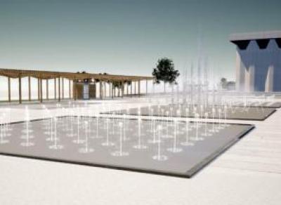 Площадь у Дворца Металлургов в Череповце реконструируют