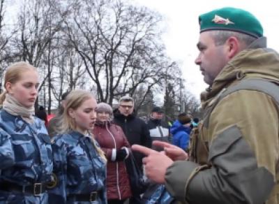 Всероссийская акция «В армию на денёк» прошла в Вологде