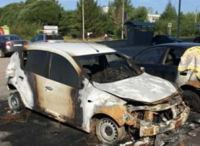 Сожгли машину будущего председателя ТСЖ