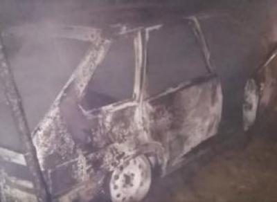 Молодой водитель сгорел в машине
