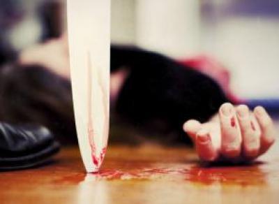 Житель Красавино зарезал свою жену и оставил малолетних детей без матери