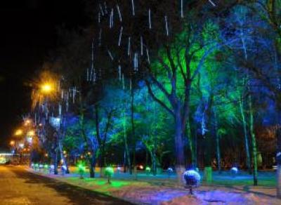 На украшение Вологды к Новому году потребуется около 2,5 миллионов рублей