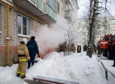 Из-за пожара в подвале пришлось эвакуировать 15 человек