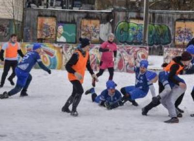 Кубок по снежному регби уезжает в Архангельск