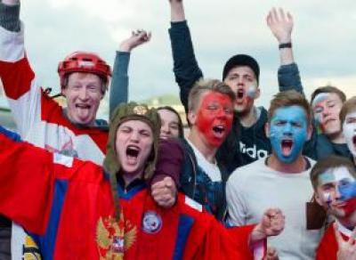В областной столице объявлен конкурс кричалок и плакатов в поддержку сборной России по футболу