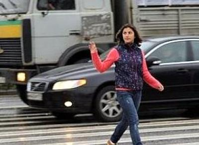 Сколько пешеходов сбили вологжане?