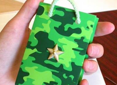 Жители областной столицы могут отправить подарки солдатам