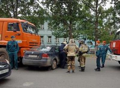 В Вологде КамАЗ протаранил «Фольксваген»