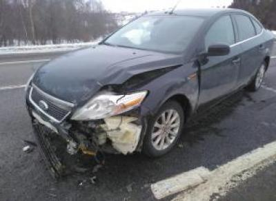 ДТП под Вологдой: два человека пострадало