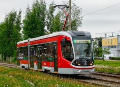 Ещё один трамвай протестируют в Череповце