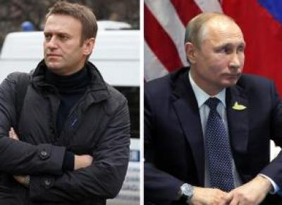 Путина и Навального выдвинули на разные премии
