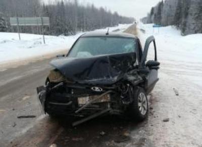 Серьёзная авария в Вытегорском районе