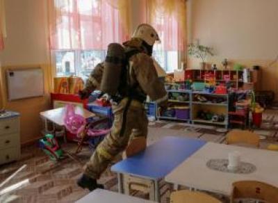 250 детей эвакуировали сегодня из-за задымления в детском саду в Вологде