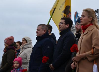 В Вологде сегодня вспоминают события Октябрьской революции