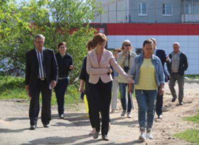 Мэр Череповца не довольна уборкой городских улиц