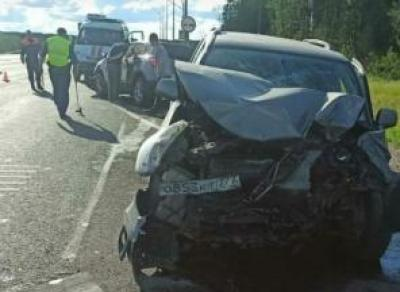 Страшная авария в Шекснинском районе