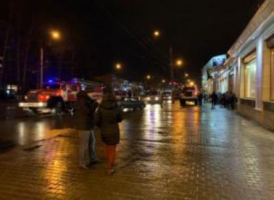 Пожар в«Золотом ключике»: 30 человек эвакуированы