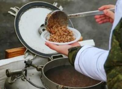 Полевая кухня в условиях ЧС