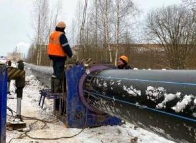 Большой водовод тянут на юг Вологды