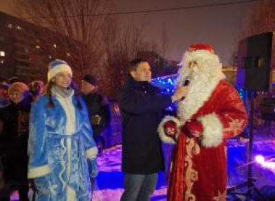 Мэр Вологды встретил Новый год на городских улицах