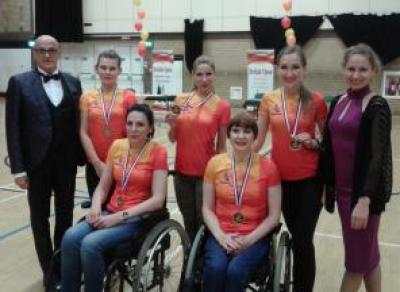 Череповецкие танцоры на колясках произвели фурор в Великобритании