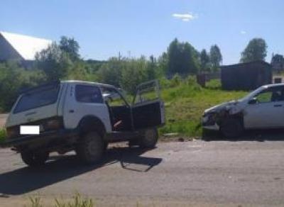 Водитель «Нивы» разбился в ДТП