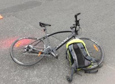 Вологжанка сбила велосипедистку на улице Чернышевского