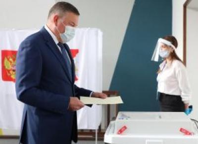 Губернатор рассказал, за что голосовал на выборах
