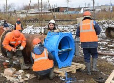 С 8 утра воскресенья начнётся подача воды в районах Бывалово и ПЗ