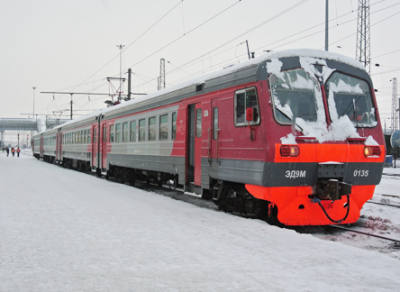 В новогоднюю ночь будет отменено несколько пригородных поездов