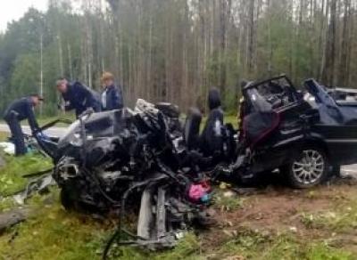 4 человека погибло в ДТП под Вытегрой