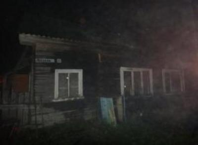 В Сокольском районе в пожаре погиб мужчина