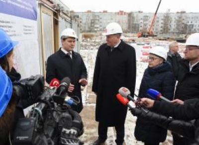 В Вологде началось строительство четырех детских садов