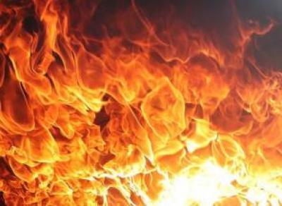 Страшный пожар случился на Вологодчине