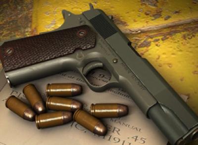 За сдачу незаконного оружия в полицию жители областной столицы могут получить награду