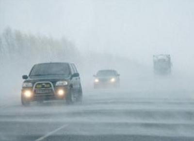 Из-за погодных условий водителей призывают быть особенно внимательными