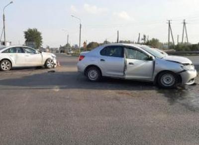 3 автомобиля столкнулись на Обходе Вологды