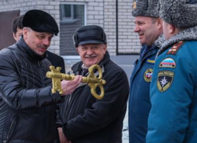 В Вологде сотрудники МЧС получили новые квартиры