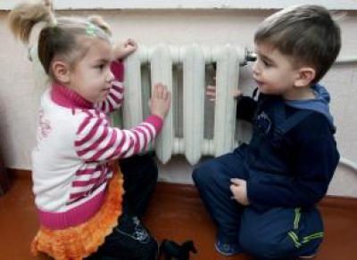 Отопление в детсадах и школах включат пораньше