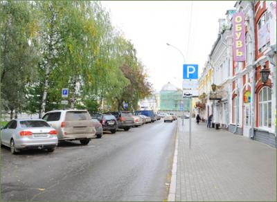 На проспекте Победы в Вологде изменится расположение парковочных мест