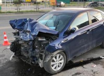2 человека пострадали в ДТП возле ТЦ «РИО»