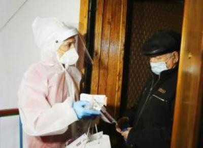 Жителям области начали выдавать лекарства от COVID