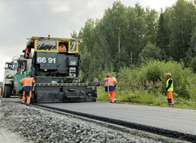 На автодороге «Тотьма – Нюксеница – Великий Устюг» начались масштабные ремонтные работы