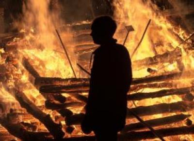 Мужчина сгорел в собственном доме